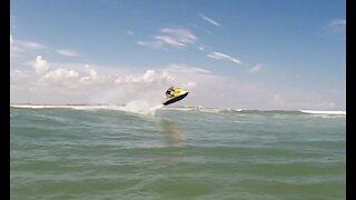Surf Jumping - Matanzas Inlet