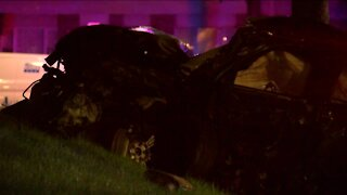 One killed, two injured after police pursuit