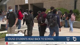 San Diego Unified students head back to school