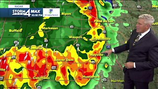 Thunderstorms may move through overnight