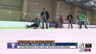KC Mavericks host kids with special needs