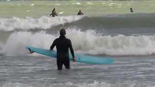 Southeast Wisconsin surf season picks up with fresh storms