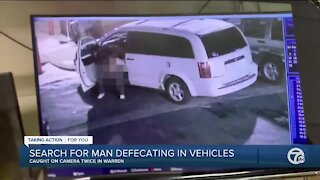 Warren police searching for serial pooper after multiple vehicles hit