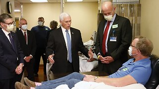 Pence Defends Not Wearing Mask During Mayo Clinic Visit