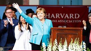 Angela Merkel takes jabs at Trump in Harvard commencement address