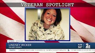 Veteran Spotlight: Lindsey Ricker of Calvert County