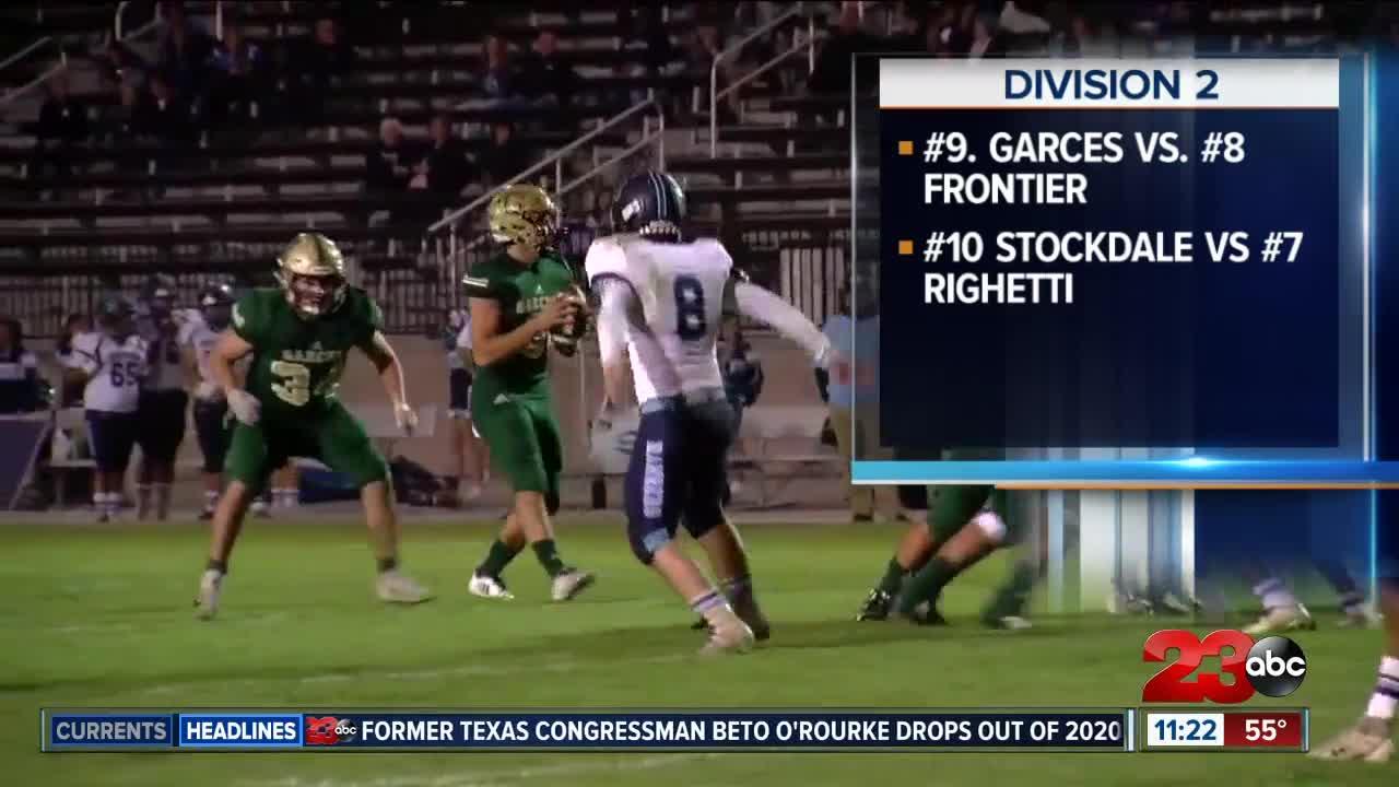 High school football playoff brackets set