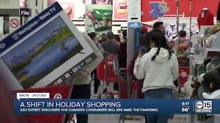 A shift in Holiday shopping