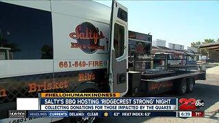 Salty's BBQ hosting 'Ridgecrest Strong' night
