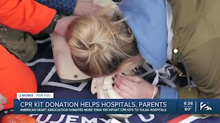 American Heart Association Donates CPR Kits to Tulsa Area Hospital
