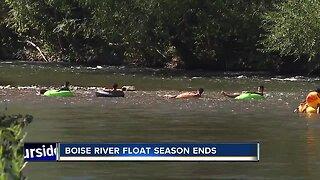 Boise River float season officially ends