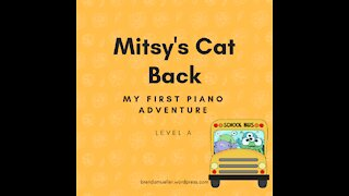 Piano Adventures Lesson Book A - Mitsy's Cat Back