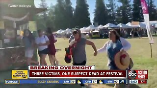 At least three victims, one suspect dead after shooting at California food festival