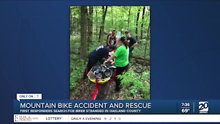First Responders Save Mountain Biker, Receive Surprise In Return