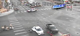 TRAFFIC ALERT: Lake Mead near Martin Luther King boulevards