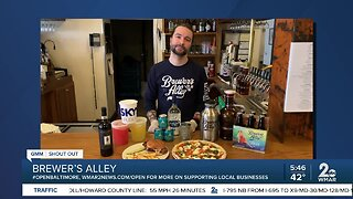 """Brewer's Alley says """"We're Open Baltimore!"""""""