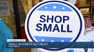 Small Business Saturday encourages customers to 'shop small'