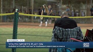 Parents weigh in as youth sports take over Valley amid COVID spike