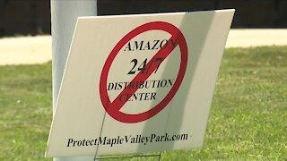 Arvada residents rally as city council vote approaches regarding future Amazon facility