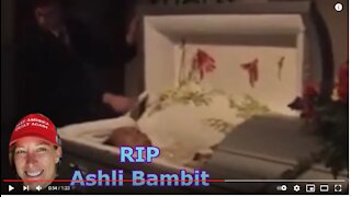 Why is Ashli Babbitt NOT LISTED in Obituary? NO FUNERAL INFO? Total False Flag???