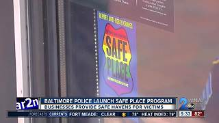 Baltimore Police Department launches Safe Place program