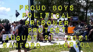 Political Prisoner Protest Sanford, Florida
