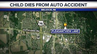 Child dies after struck by SUV