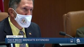 Indian River County extends mask mandate for 6 months