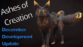 Ashes of Creation Decemberr Development Update (Summary)