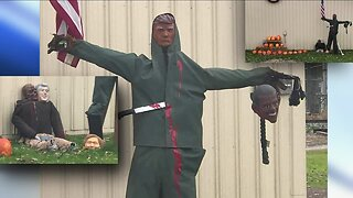 Halloween display controversy goes viral