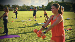 Palm Beach Gardens gym offering outdoor workouts