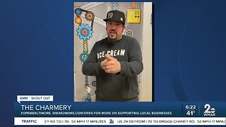 """The Charmery says """"We're Open Baltimore!"""""""