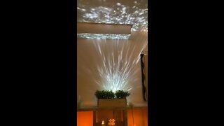 Massage room lights ...