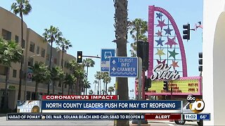 North county leaders push for May1st reopening