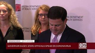 Governor Ducey declares public health emergency in Arizona over coronavirus