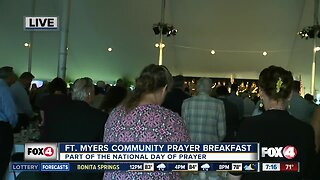 Fort Myers hosts Community Prayer Breakfast - 7am live report