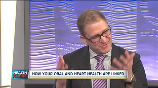 How are oral and heart health related?