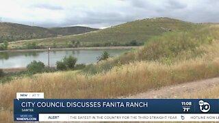 City council discusses Fanita Ranch