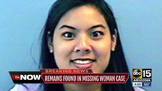 Remains found in Sun Lakes ID'd as missing Chandler woman