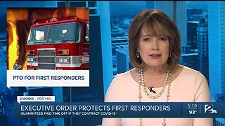 Gov. Stitt Issues Executive Order to Protect First Responders