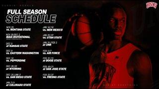 UNLV men's basketball revised 2020-21 schedule announced