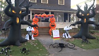 A different kind of Halloween on Harrison Boulevard in Boise