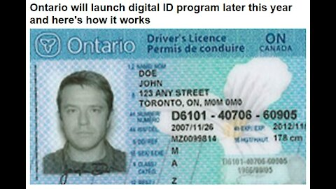 Ontario Will Launch Digital ID Control This Year
