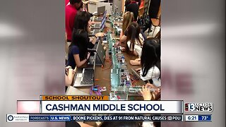 SCHOOL SHOUTOUT: Cashman Middle School (Thursday)