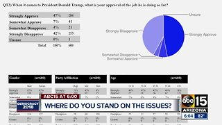 New poll shows where Arizona stands with the latest voting issues