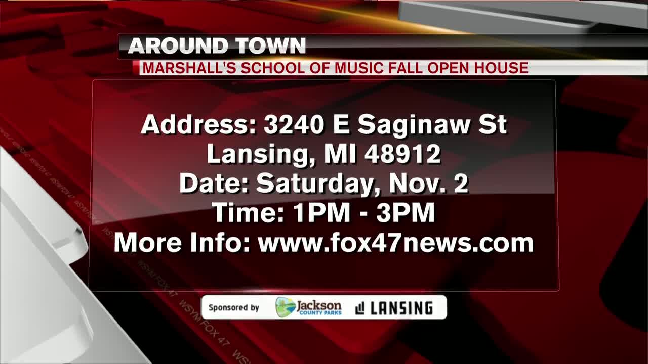 Around Town - Marshall School of Music Fall Open House - 11/1/19