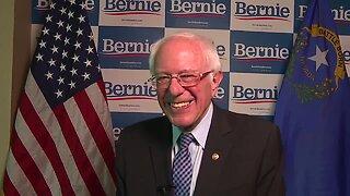 Raw interview with Bernie Sanders