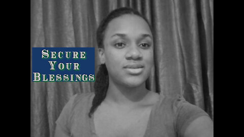 Decree & Declare this - To Secure Your Blessing/The Promise   Speak it until you see it 3