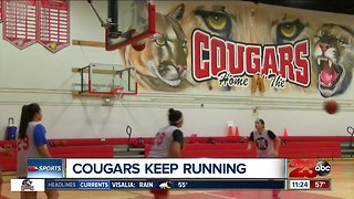 Cougars girls basketball is relentless, advance in state playoffs