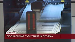 Biden takes lead over Trump in Georgia